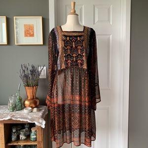 Anthropologie Akemi & Kin Munro beaded dress 1369